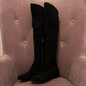 Via spiga over the knee boots